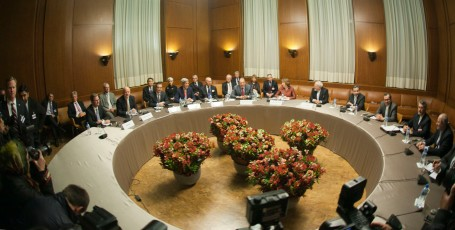 P5+1 Talks With Iran in Geneva, Switzerland